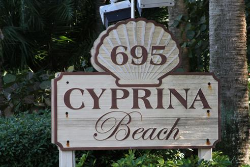 Cyprina Beach, Sanibel, Florida Real Estate